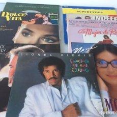 Discos de vinilo: LOTE DE 10 VINILOS DE MÚSICA VARIADA DE LOS 80.. Lote 177624913