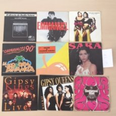 Discos de vinilo: LOTE 9 DISCOS SINGLES VINILO. Lote 177627259