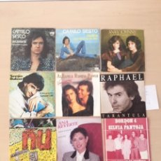 Discos de vinilo: LOTE 9 DISCOS SINGLES VINILO. Lote 177627470