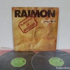 Discos de vinilo: RAIMON - EL RECITAL DE MADRID - 2 LP - MOVIEPLAY 1976 SPAIN GATEFOLD CON LIBRETO INCORPORADO. Lote 177628474