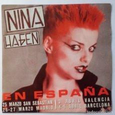 Discos de vinilo: NINA HAGEN: EN ESPAÑA. Lote 177631594