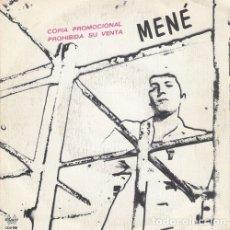 Discos de vinilo: MENE - EX MAMA - SUEÑOS - SINGLE DE VINILO. Lote 177634733