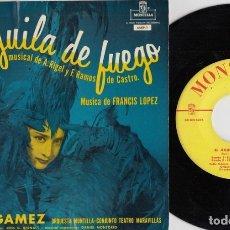 Discos de vinilo: CELIA GAMEZ - EL AGUILA DE FUEGO - EP EDICON NORTEAMERICANA DE VINILO - MONTILLA 4SEP - 1. Lote 177634864