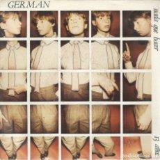 Discos de vinilo: GERMAN, NADA QUE HACER (JUNIOR'S J-001 1983) -POSTAL PROMO-. Lote 177637250