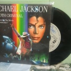Discos de vinilo: MICHAEL JACKSON SMOOTH CRIMINAL SINGLE SPAIN 1988 PDELUXE. Lote 177637485