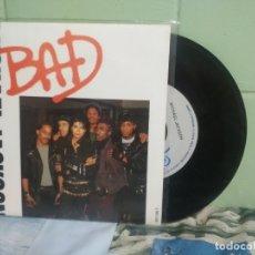 Discos de vinilo: MICHAEL JACKSON BAD SINGLE SPAIN 1987 PDELUXE. Lote 177637834