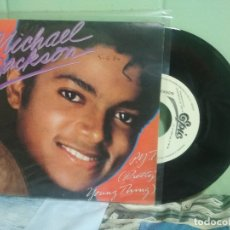 Discos de vinilo: MICHAEL JACKSON P.Y.T (PRETTY YOUNG THING) SINGLE SPAIN 198 PDELUXE. Lote 177637948