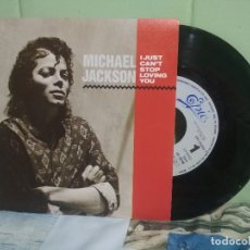Discos de vinilo: MICHAEL JACKSON I JUST CAN'T STOP LOVING YOU SINGLE SPAIN 1987 PDELUXE. Lote 177638205