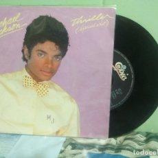 Discos de vinilo: MICHAEL JACKSON THRILLER - SPECIAL EDIT SINGLE HOLANDA 1982 PDELUXE. Lote 177638583