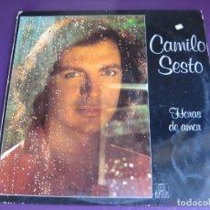 Discos de vinilo: CAMILO SESTO LP ARIOLA 1979 HORAS DE AMOR - . Lote 177647555