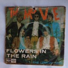 Discos de vinilo: THE MOVE - FLOWERS IN THE RAIN / THE LEMON TREE - SINGLE. TDKDS19. Lote 177648145