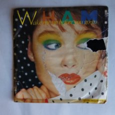Disques de vinyle: WHAM! - WAKE ME UP BEFORE YOU GO-GO. SINGLE. TDKDS19. Lote 177649557
