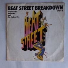 Discos de vinilo: GRANDMASTER MELLE MEL & THE FURIOUS FIVE – BEAT STREET BREAKDOWN. TDKDS19. Lote 177652403