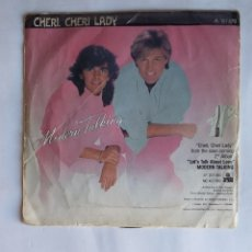 Discos de vinilo: MODERN TALKING – CHERI, CHERI LADY. SINGLE. TDKDS19. Lote 177652928