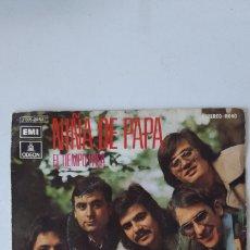 Discos de vinilo: LOS DIABLOS. NIÑA DE PAPA Y EL TIEMPO PASA.. Lote 177658674