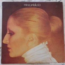 Discos de vinilo: MINA. CANTA LUCIO. LP ORIGINAL ITALIA PDU. Lote 177662315