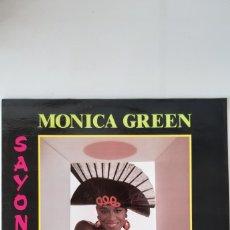 Discos de vinilo: MONICA GREEN. SAYONARA.. Lote 177662433