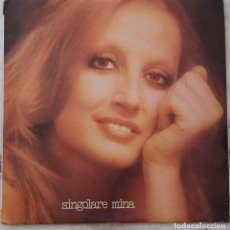 Discos de vinilo: MINA. SINGOLARE. LP ORIGINAL ITALIA PDU. Lote 177662468