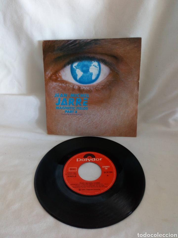 JEAN MICHEL JARRE MAGNETIC FIELDS PART 4 SINGLE (Música - Discos - Singles Vinilo - Electrónica, Avantgarde y Experimental)