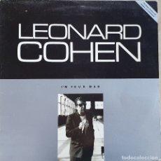 Discos de vinilo: LEONARD COHEN, I'M YOUR MAN. Lote 177667272