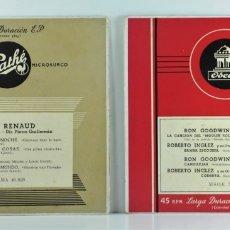 Discos de vinilo: LINE RENAUD - CARAVANA DE LA NOCHE - RON GOODWIN & ROBERTO INGLEZ. Lote 177667702