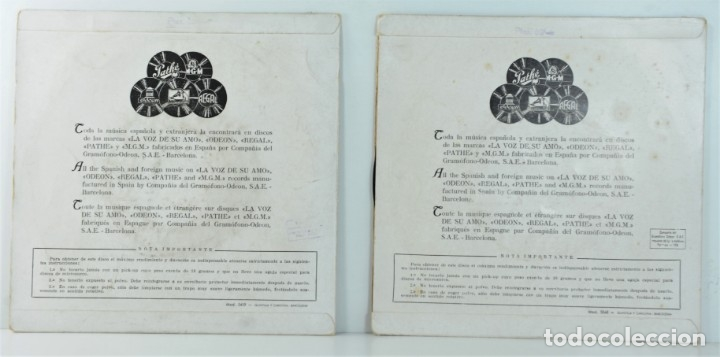 Discos de vinilo: LINE RENAUD - CARAVANA DE LA NOCHE - RON GOODWIN & ROBERTO INGLEZ - Foto 2 - 177667702