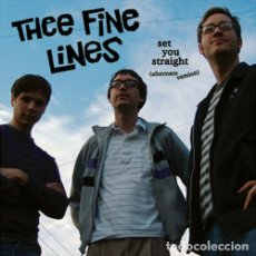 Discos de vinilo: THEE FINE LINES SET YOU STRAIGHT LP . MIGHTY CAESARS BILLY CHILDISH HEADCOATS. Lote 177668209