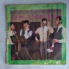 Discos de vinilo: LOS ÁNGELES - MAÑANA, MAÑANA - NO PIENSES. TDKDS19. Lote 177669975