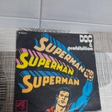 Discos de vinilo: DISCO VINILO SUPERMAN DOC & PROHIBITION. Lote 177675667
