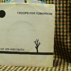 Discos de vinilo: TROOPS FOR TOMORROW ?– SONGS OF JOY & FAITH / THE PRISONER, RMNS 1, 1982, ROCK NEW WAVE.. Lote 177677074