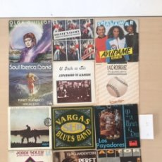 Discos de vinilo: LOTE 12 SINGLES. Lote 177677705