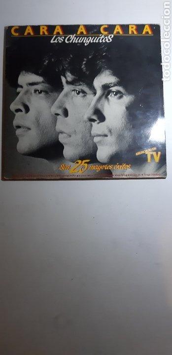 DOBLE LP. LOS CHUNGUITOS.CARA A CARA. EMI ODEON. 1984. ESPAÑA. (Música - Discos - LP Vinilo - Flamenco, Canción española y Cuplé)