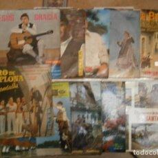 Discos de vinilo: LOTE DE 9 DISCOS JOTAS. Lote 177684755