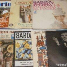 Discos de vinilo: LOTE DE 8 DISCOS¡ NOSE ADMITE DE VOLUCIONES¡¡. Lote 177684895