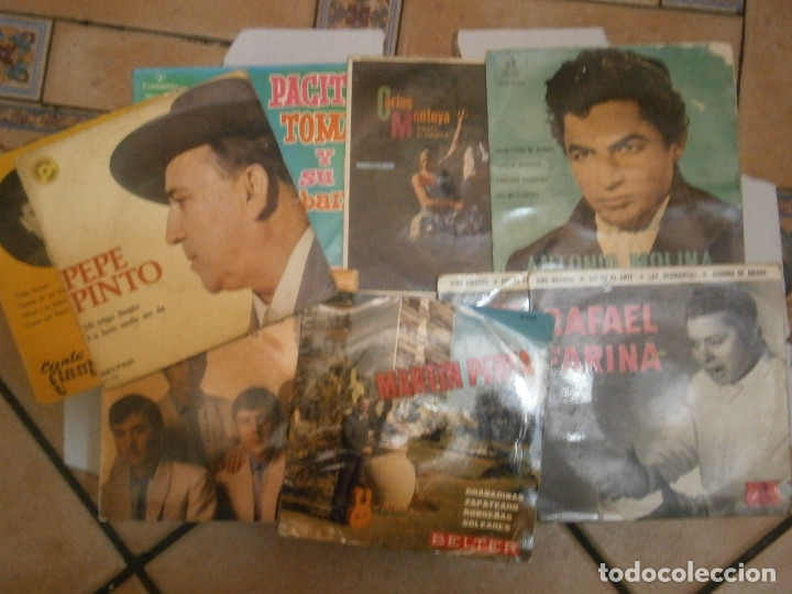 Discos de vinilo: LOPTE DE 8 DISCOS FLAMENCO¡¡ NOSE ADMITE DE VOLUCIONES¡¡ - Foto 3 - 177685077