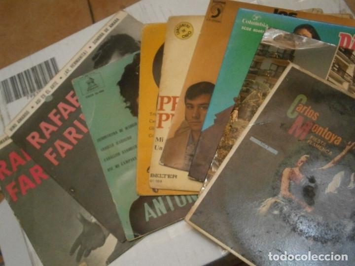 Discos de vinilo: LOPTE DE 8 DISCOS FLAMENCO¡¡ NOSE ADMITE DE VOLUCIONES¡¡ - Foto 8 - 177685077