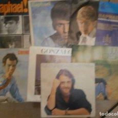 Discos de vinilo: LOTE DE 7 DISCOS RAFAEL JULIO IGLESIAS¡¡¡ NOSE ADMITE DE VOLUCIONES¡¡. Lote 177685193