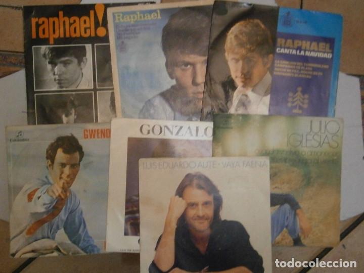 Discos de vinilo: LOTE DE 7 DISCOS RAFAEL JULIO IGLESIAS¡¡¡ NOSE ADMITE DE VOLUCIONES¡¡ - Foto 2 - 177685193