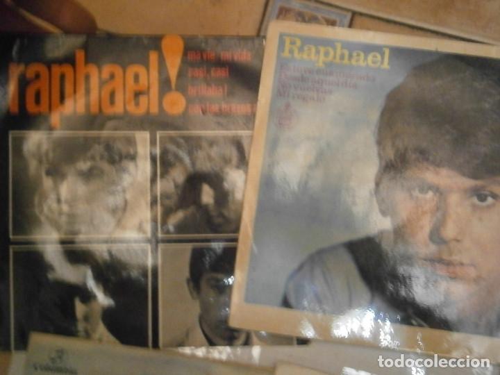 Discos de vinilo: LOTE DE 7 DISCOS RAFAEL JULIO IGLESIAS¡¡¡ NOSE ADMITE DE VOLUCIONES¡¡ - Foto 3 - 177685193