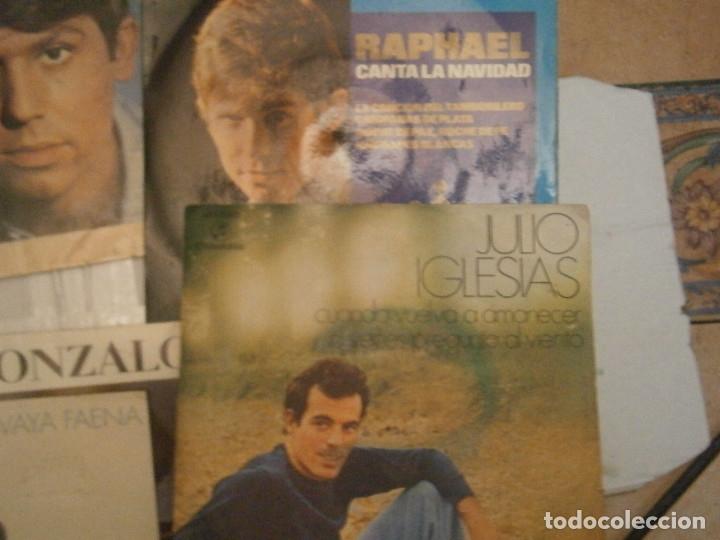 Discos de vinilo: LOTE DE 7 DISCOS RAFAEL JULIO IGLESIAS¡¡¡ NOSE ADMITE DE VOLUCIONES¡¡ - Foto 5 - 177685193