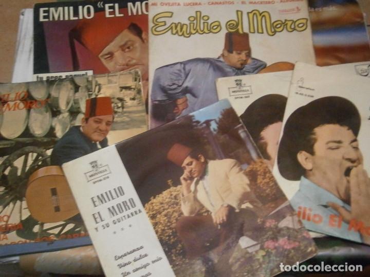 LOTE DE EMILIO EL MORO¡¡ NOSE ADMITE DE VOLUCIONES¡¡ (Música - Discos de Vinilo - Maxi Singles - Flamenco, Canción española y Cuplé)