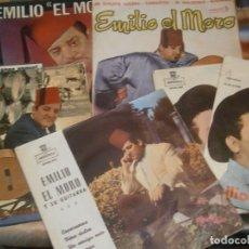 Discos de vinilo: LOTE DE EMILIO EL MORO¡¡ NOSE ADMITE DE VOLUCIONES¡¡. Lote 177685244