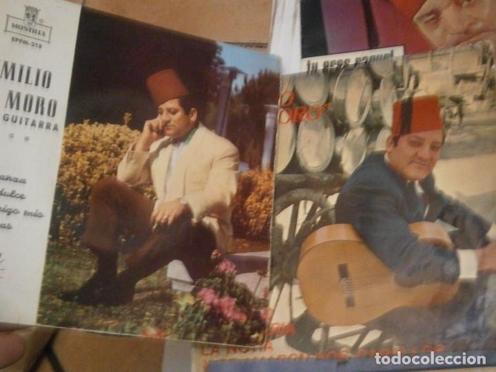 Discos de vinilo: LOTE DE EMILIO EL MORO¡¡ NOSE ADMITE DE VOLUCIONES¡¡ - Foto 3 - 177685244