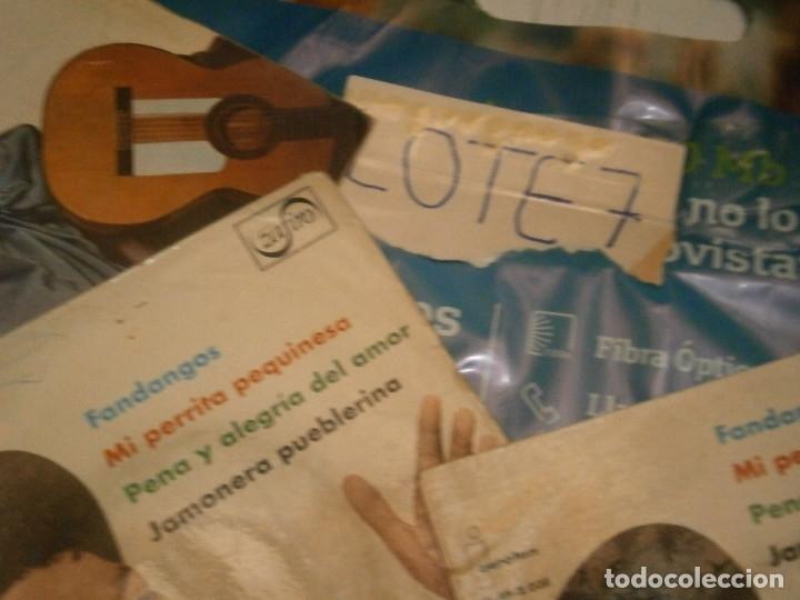 Discos de vinilo: LOTE DE EMILIO EL MORO¡¡ NOSE ADMITE DE VOLUCIONES¡¡ - Foto 6 - 177685244
