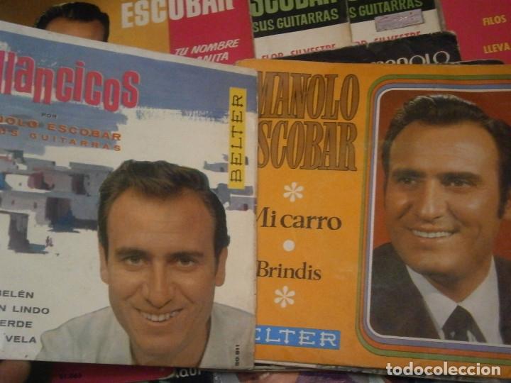 Discos de vinilo: 18 DISCOS MANOLO ESCOBAR,, NOSE ADMITE DE VOLUCIONES¡¡ - Foto 2 - 177685538