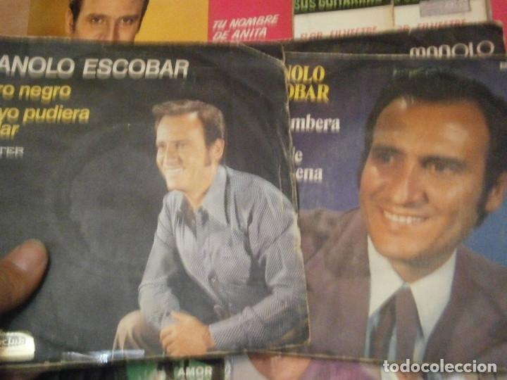 Discos de vinilo: 18 DISCOS MANOLO ESCOBAR,, NOSE ADMITE DE VOLUCIONES¡¡ - Foto 4 - 177685538