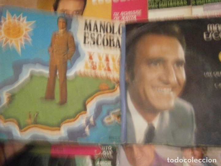 Discos de vinilo: 18 DISCOS MANOLO ESCOBAR,, NOSE ADMITE DE VOLUCIONES¡¡ - Foto 5 - 177685538