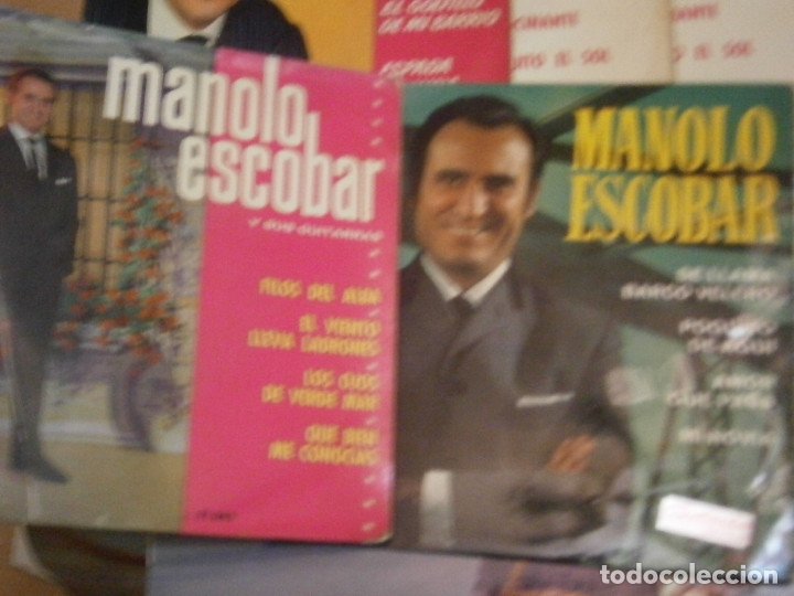 Discos de vinilo: 18 DISCOS MANOLO ESCOBAR,, NOSE ADMITE DE VOLUCIONES¡¡ - Foto 6 - 177685538