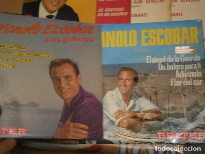 Discos de vinilo: 18 DISCOS MANOLO ESCOBAR,, NOSE ADMITE DE VOLUCIONES¡¡ - Foto 7 - 177685538