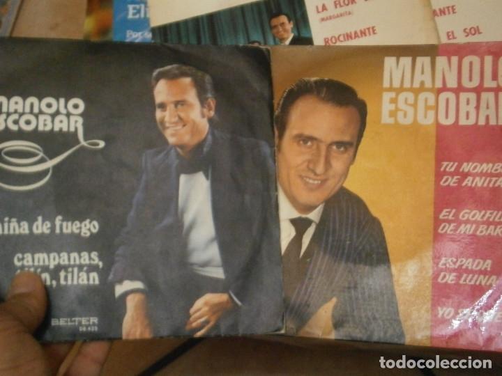 Discos de vinilo: 18 DISCOS MANOLO ESCOBAR,, NOSE ADMITE DE VOLUCIONES¡¡ - Foto 8 - 177685538